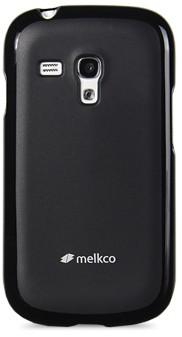 Накладка Melkco силиконовая для Samsung Galaxy S III mini i8190 черная