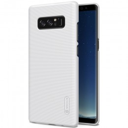 Накладка Nillkin Frosted Shield пластиковая для Samsung Galaxy Note 8 N950 White (белая)