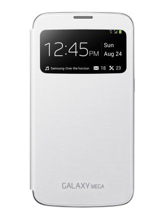 Чехол Flip Cover S-View для Samsung GALAXY Mega 6.3 белый