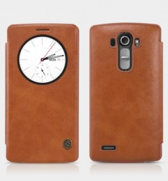 Чехол Nillkin Qin Leather для LG G4 Brown