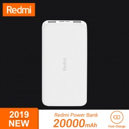 Аккумулятор Xiaomi Redmi Power Bank 20000mAh White (белый)