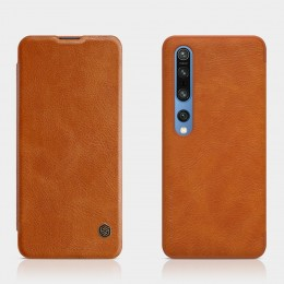Чехол Nillkin Qin Leather Case для Xiaomi Mi10 / Mi10 Pro Brown (коричневый)