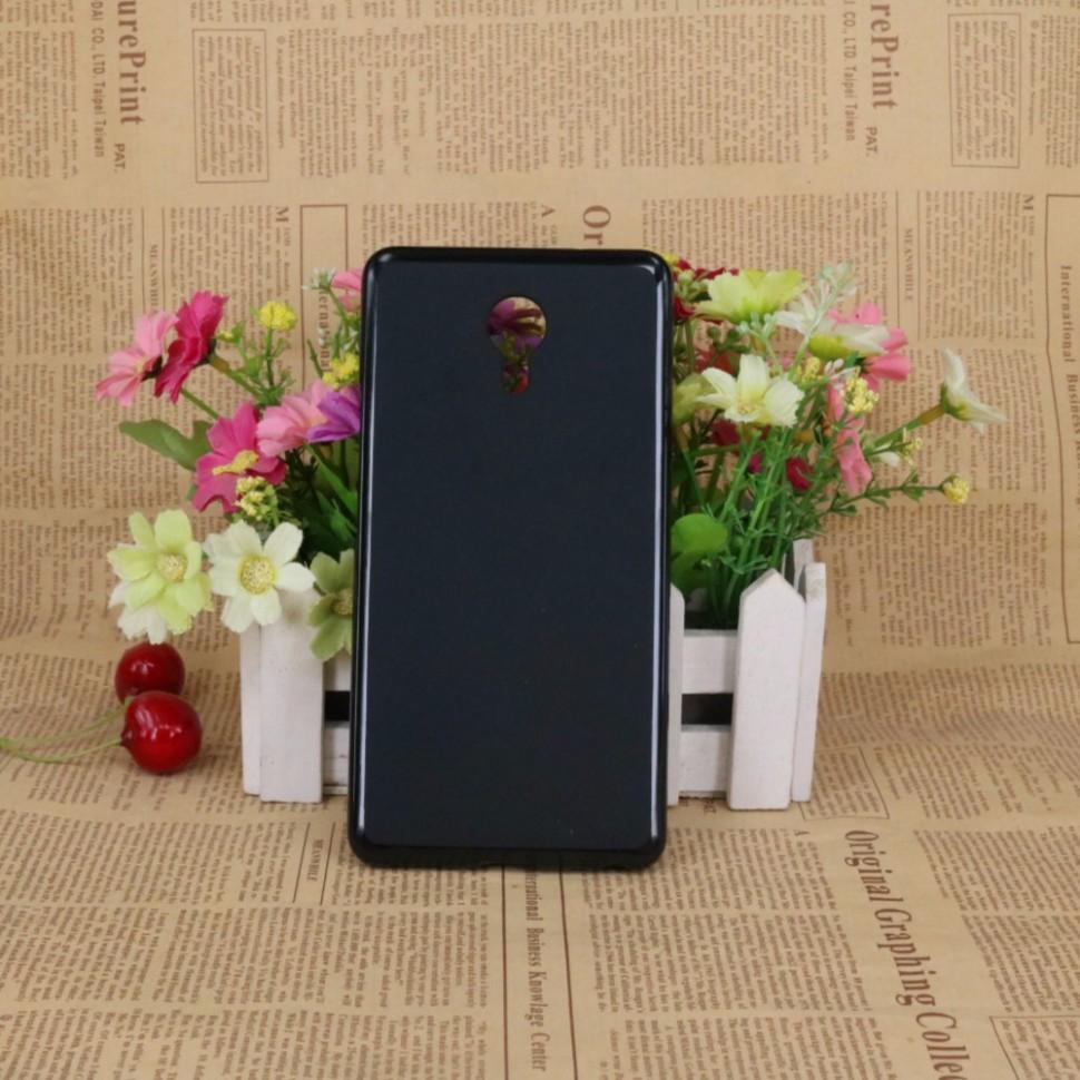 Накладка KissWill силиконовая для Meizu M3 Max черная