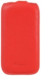 Чехол Melkco для Samsung Galaxy S III mini i8190 Red