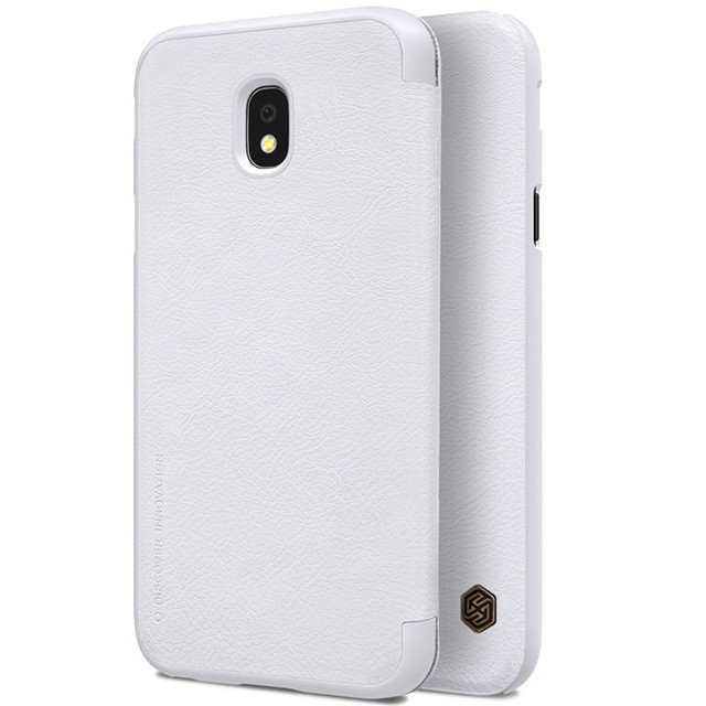 Чехол Nillkin Qin Leather Case для Samsung Galaxy J3 2017 (J3 Pro/J330) White (белый)