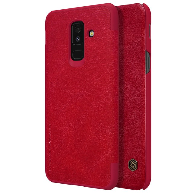 Чехол Nillkin Qin Leather Case для Samsung Galaxy A6 Plus (2018) A605 Red (красный)