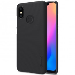 Накладка Nillkin Frosted Shield пластиковая для Xiaomi Mi8 Black (черная)
