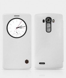 Чехол Nillkin Qin Leather для LG G4 White