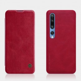 Чехол Nillkin Qin Leather Case для Xiaomi Mi10 / Mi10 Pro Red (красный)