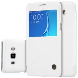 Чехол Nillkin Qin Leather Case для Samsung Galaxy J7 (2016) J710 White (белый)