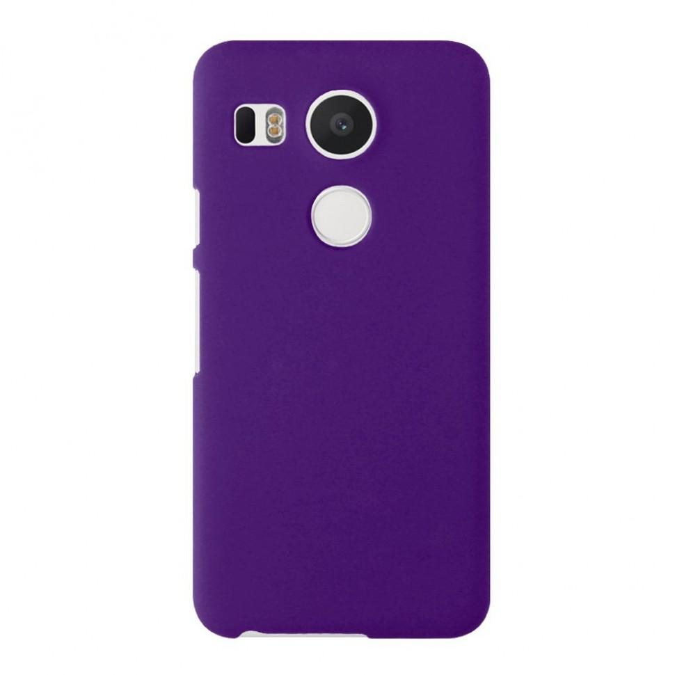 Накладка пластиковая для LG Nexus 5X фиолетовая
