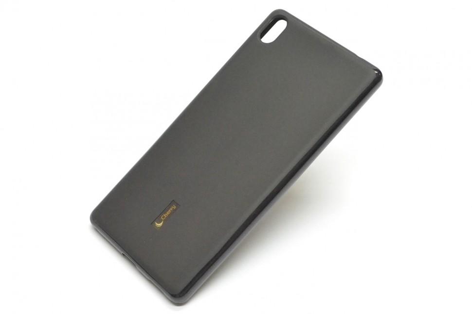 Накладка Cherry силиконовая для Sony Xperia XA Ultra черная