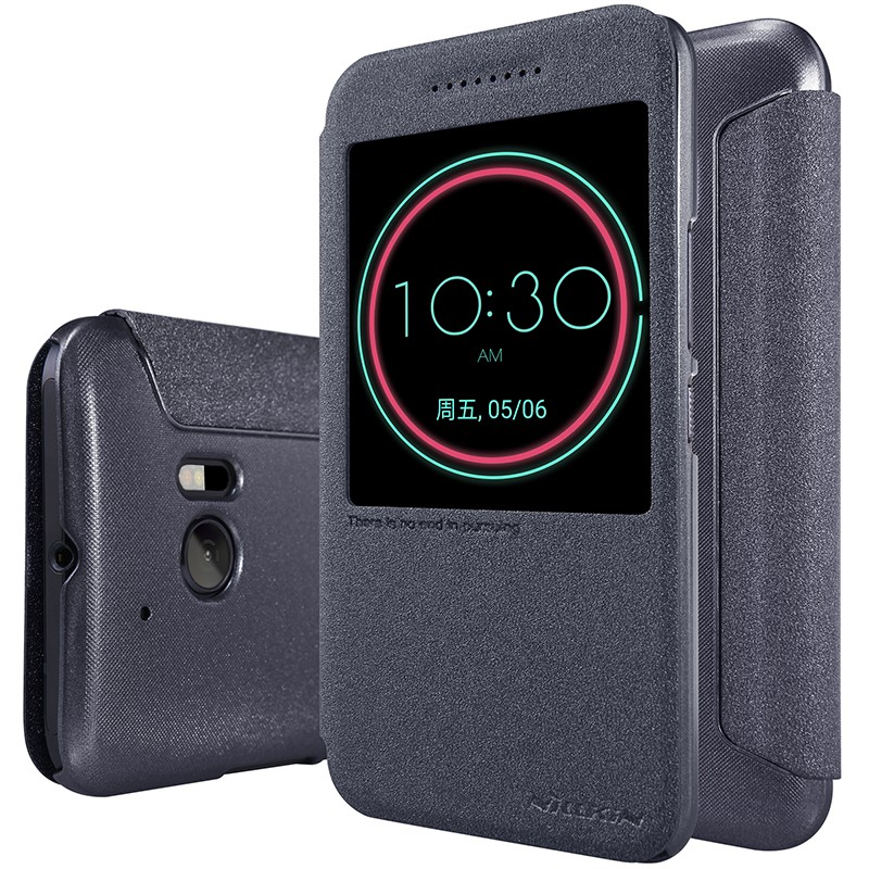 Чехол Nillkin Sparkle Series для HTC One 10 (M10/Lifestyle) Black (черный)