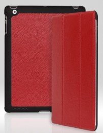 Чехол Yoobao iSlim Leather Case для iPad 4/ iPad 3/ iPad 2 Red