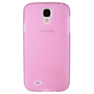 Накладка силиконовая для Samsung Galaxy S4 i9500/9505 светло-розовая матовая