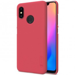 Накладка Nillkin Frosted Shield пластиковая для Xiaomi Mi8 Red (красная)