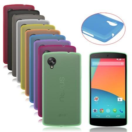 Силиконовая накладка для LG NEXUS 5 красная