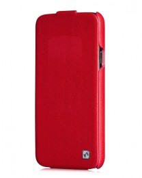 Чехол HOCO Duke Leather Case для Samsung Galaxy S5 G900 Red (красный)