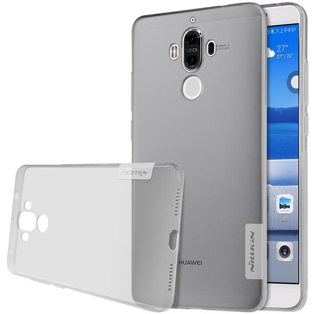 Накладка Nillkin Nature TPU Case силиконовая для Huawei Ascend Mate 9 прозрачно-черная