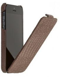 Чехол Borofone Crocodile Leather case Brown для iPhone 5