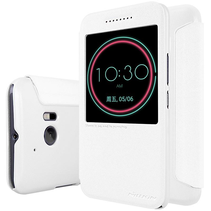 Чехол Nillkin Sparkle Series для HTC One 10 (M10/Lifestyle) White (белый)