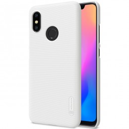 Накладка Nillkin Frosted Shield пластиковая для Xiaomi Mi8 White (белая)