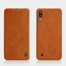Чехол Nillkin Qin Leather Case для Samsung Galaxy M10 SM-M105 Brown (коричневый)