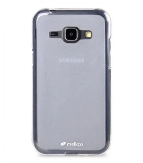 Накладка Melkco силиконовая для Samsung Galaxy J1 J100 прозрачная