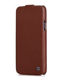 Чехол HOCO Duke Leather Case для Samsung Galaxy S5 G900 Brown (коричневый)
