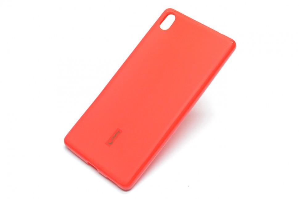 Накладка Cherry силиконовая для Sony Xperia XA Ultra красная