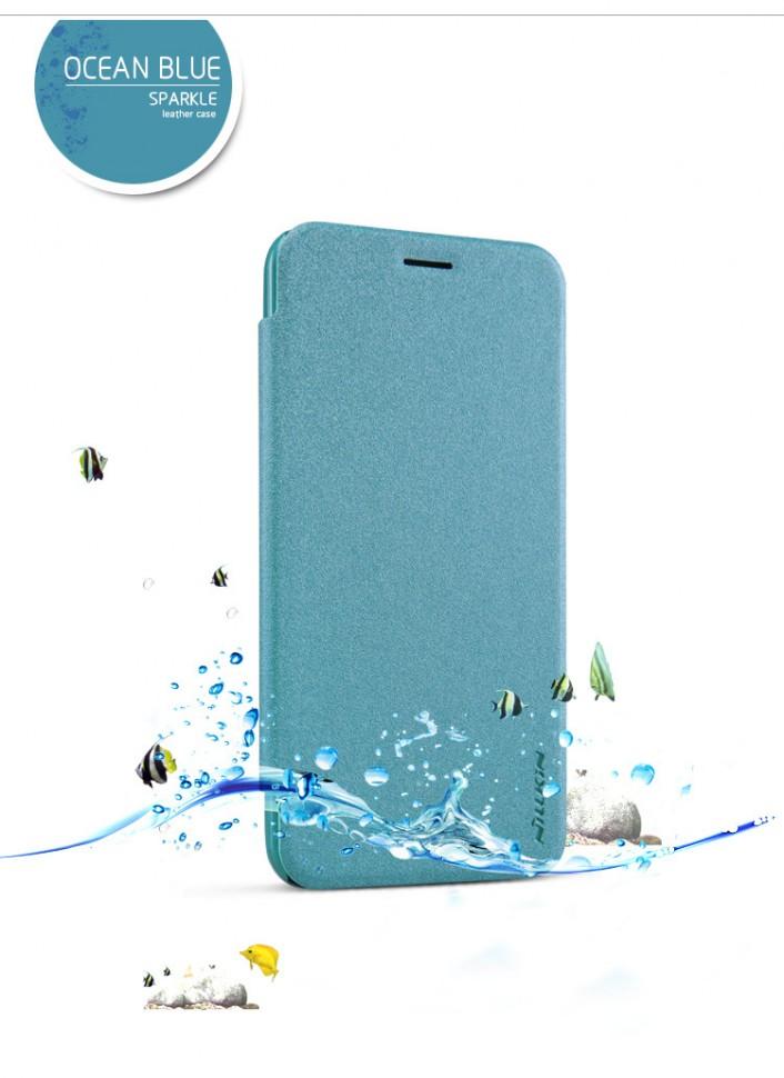 "Чехол Nillkin Sparkle Series для Asus Zenfone 2 5.0"" ZE500CL Light Blue (голубой)"