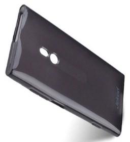 Накладка Jekod силиконовая для Nokia Lumia 800 черная