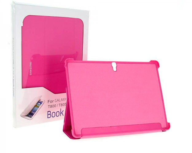Чехол Book Cover для Samsung Galaxy Tab3 P5200/5210/5220 Pink