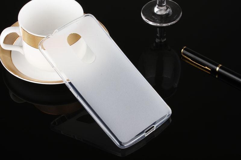 Накладка KissWill силиконовая для Lenovo Vibe X3 прозрачно-белая