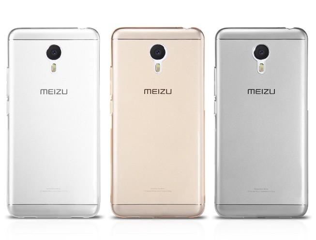 Накладка силиконовая для Meizu Pro 6 прозрачно-черная