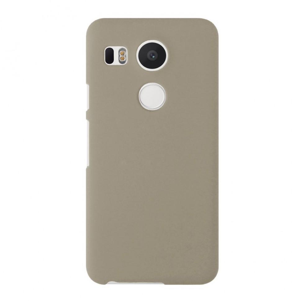Накладка пластиковая для LG Nexus 5X золотая