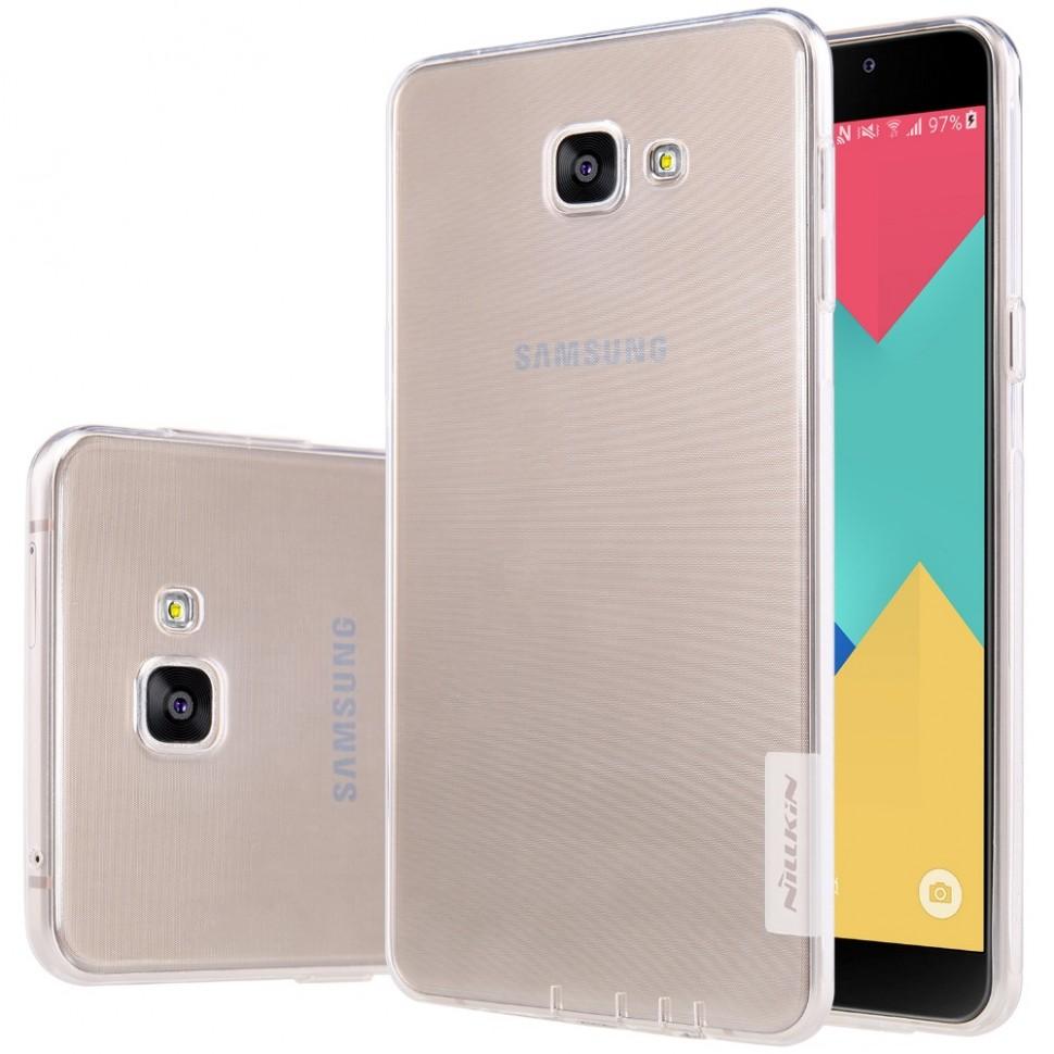 Накладка Nillkin Nature TPU Case силиконовая для Samsung Galaxy A9 (A9000) прозрачная