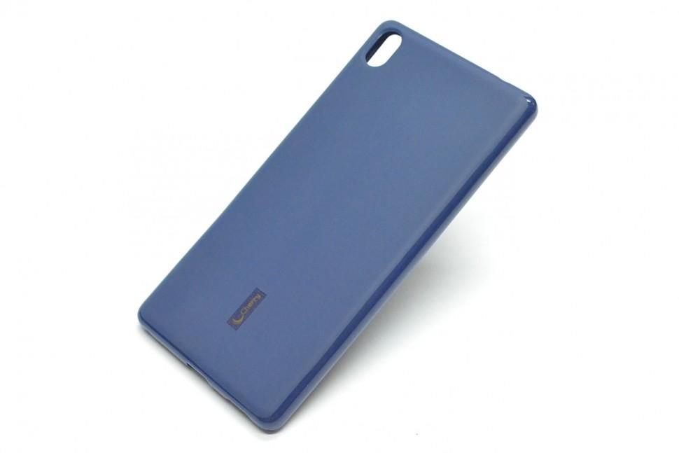 Накладка Cherry силиконовая для Sony Xperia XA Ultra синяя