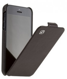 Чехол HOCO Leather case для iPhone 5 Black