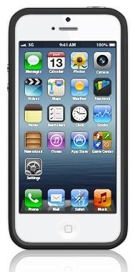 Бампер для Apple iPhone 5 Bumpers черный