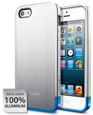Накладка SGP Case Blitz Series для iPhone 5 Satin Silver
