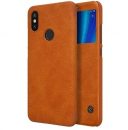 Чехол Nillkin Qin Leather Case для Xiaomi Mi6X / MiA2 Brown (коричневый)