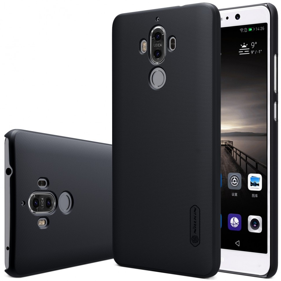 Накладка Nillkin Frosted Shield пластиковая для Huawei Ascend Mate 9 Black (черная)