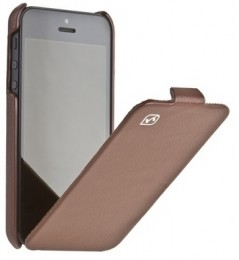 Чехол HOCO Leather case для iPhone 5 Brown