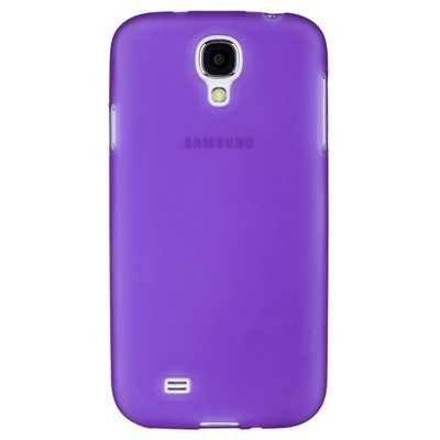 Накладка силиконовая для Samsung Galaxy S4 i9500/9505 сиреневая матовая