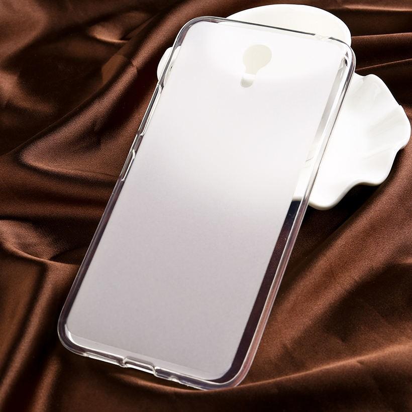 Накладка KissWill силиконовая для Lenovo ZUK Z1 прозрачно-белая