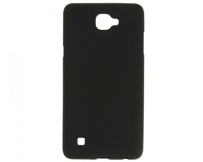 Накладка силиконовая для LG X5 черная