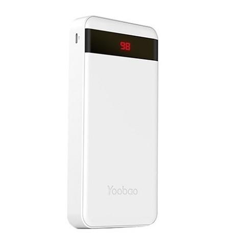 Аккумулятор Yoobao M20 Pro White 20000mAh внешний универсальный (белый)