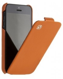 Чехол HOCO Leather case для iPhone 5 Orange