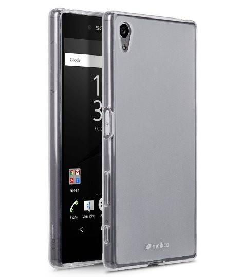 Накладка Melkco силиконовая для Sony Xperia Z5 Compact прозрачная
